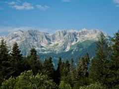 По горам Абхазии