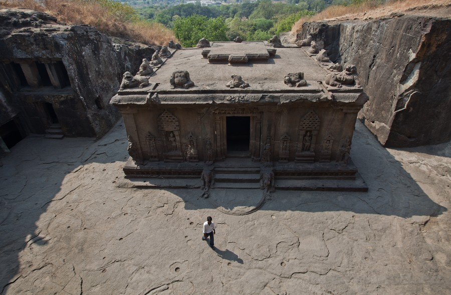 Пещерный храм Эллора