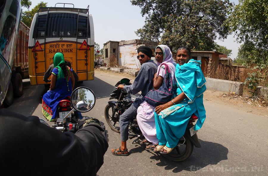 Мото путешествие по Индии