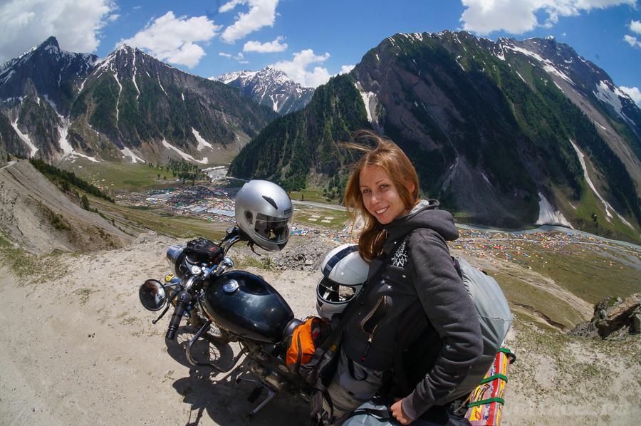 Мото путешествие по Индийским Гималаям