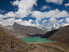 Треккинг в Непале. Озера Гокье в долине Кхумбу