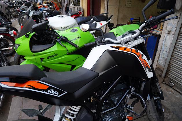 моторынок в Дели