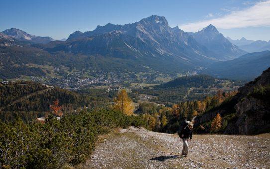 Горный поход в Итальянских Альпах
