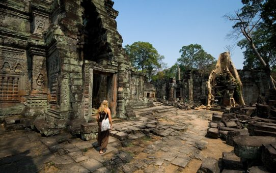 Ангкор Ват-храмы затерянные в джунглях