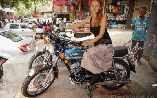 Покупка мотоцикла в Индии