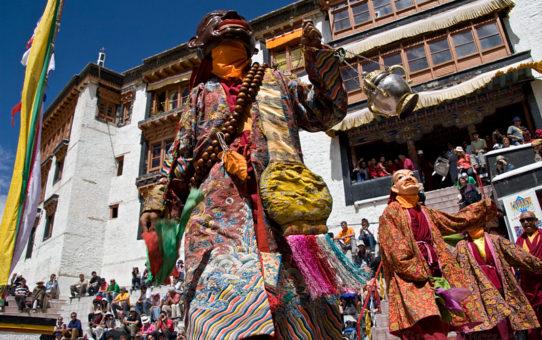 Ладакх, национальный фестиваль в г. Лех